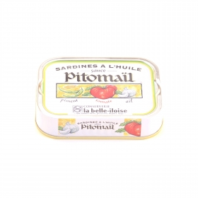 Sardines Sauce Pitomail