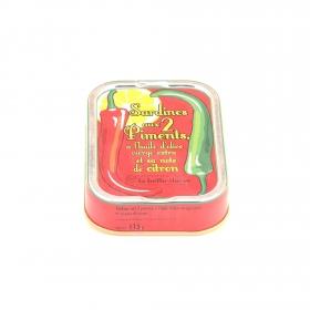 Sardines aux 2 Piments et sa note de Citron