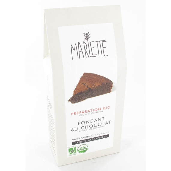 Préparation Bio - Fondant au Chocolat