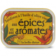 Sardines aux Epices et aux Aromates