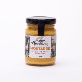 Moutarde au Coulis de Piment d'Espelette