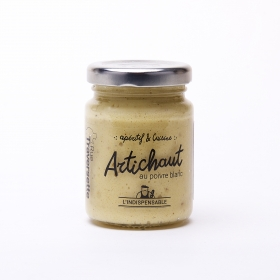 Crème d'Artichaut au Poivre Blanc