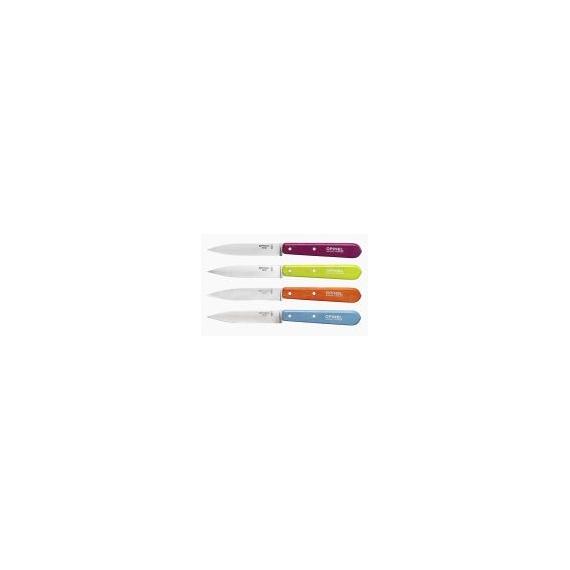 Opinel n°112 le Coffret Couteaux d'Office couleurs acidulées