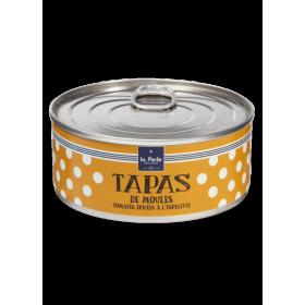 Tapas de Moules Tomates Epicées à l'Espelette