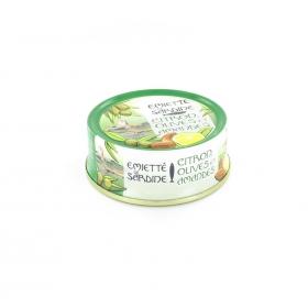Emietté de Sardine Citron, Olives et Amandes