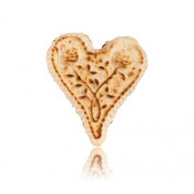 Coeur Dandoy en Massepain Cuit