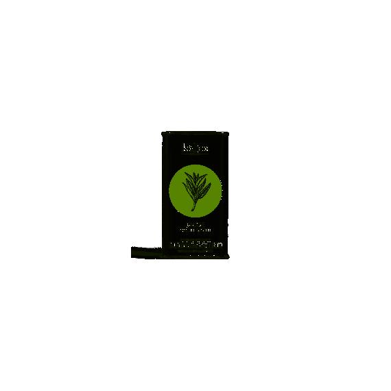 Huile d'olive vierge extra à la sauge fraiche fraiche infusée