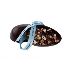 Oeuf au chocolat Noir Croquant Collection Pâques 2021
