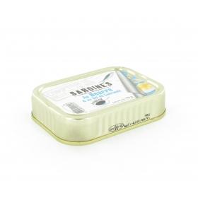 Sardines au beurre et au sel de guerande