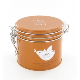 Thé noir orange cannelle boite de 100 gr