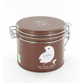 Thé noir chocolat vanille boite de 100 gr
