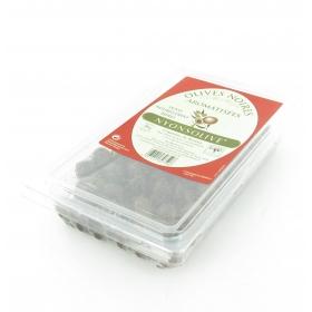 Barquette Olives noires de Nyons aromatisées 300gr