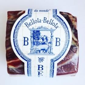 Jambon Bellota Bellota Dehesa Extramadura avec os