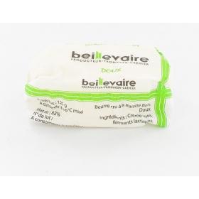 Beurre cru 125 gr doux