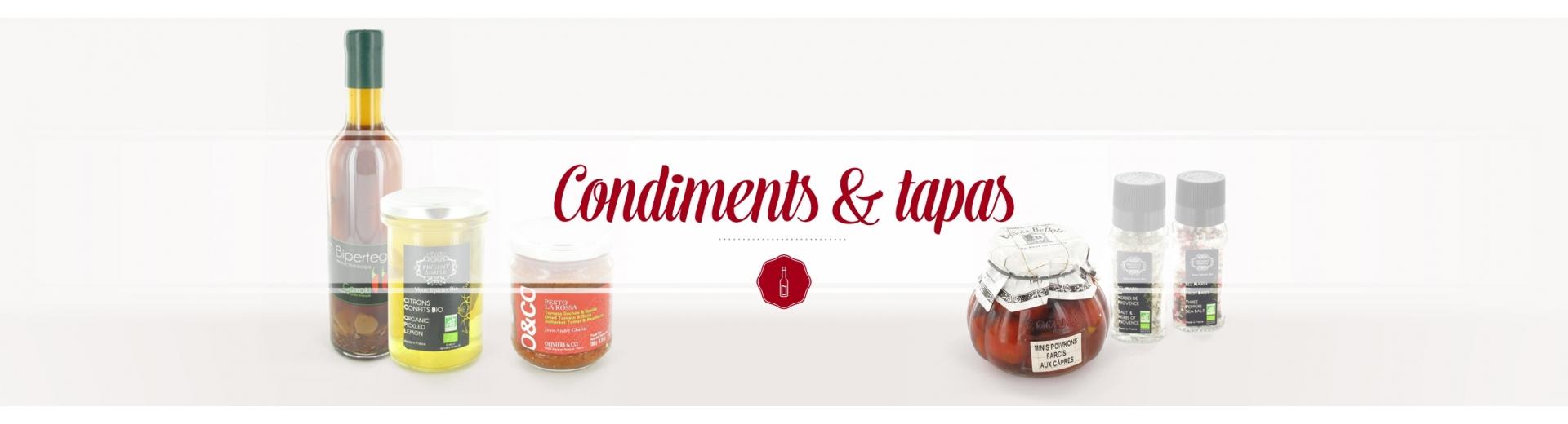 Condiments Tapas