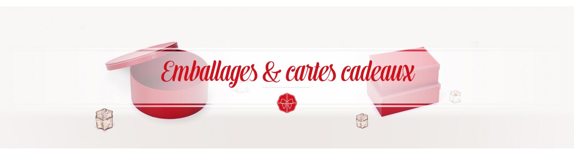 Emballages et Carte Cadeau